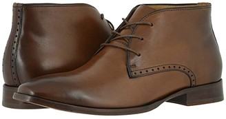 Johnston & Murphy McClain Chukka (Dark Tan Full Grain) Men's Boots