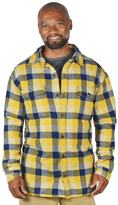 Stanley Men's Plaid Fleece-Lined Flannel Shirt Jacket
