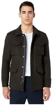 AllSaints Kadleston Coat (Cocoa Brown) Men's Coat