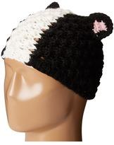 San Diego Hat Company KNH3408 Popcorn Knit Skunk Beanie