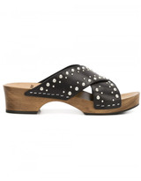 Saint Laurent studded flat sandals