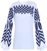 Andrew Gn Aztec Blouse