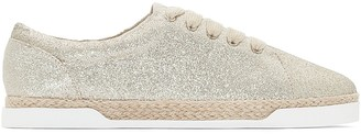La Redoute Collections Sparkly Trainers with Rope Sole