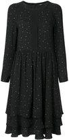Steffen Schraut layered flared dress - women - Cotton/Polyester - 34