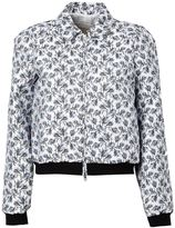 Giambattista Valli jacquard bomber jacket - women - Silk/Polyamide/Polyester/Viscose - 42