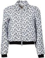Giambattista Valli jacquard bomber jacket - women - Silk/Polyester/Viscose/Polyamide - 42