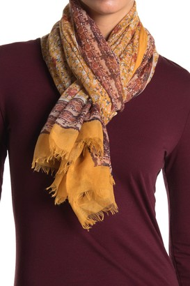 Melrose and Market Ditsy Meadow Woven Scarf