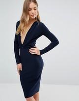 Bec & Bridge Winkworth Plunge L/S Dress