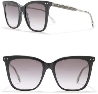 Bottega Veneta 50mm Oversized Sunglasses