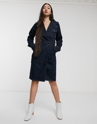 Gestuz Elenor denim utility dress