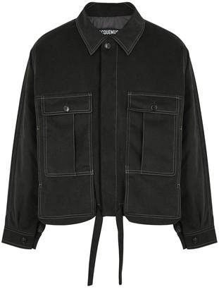 Jacquemus La Veste Esterel padded grey denim jacket