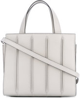 Max Mara ribbed effect tote
