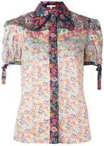 Olympia Le-Tan floral print shirt