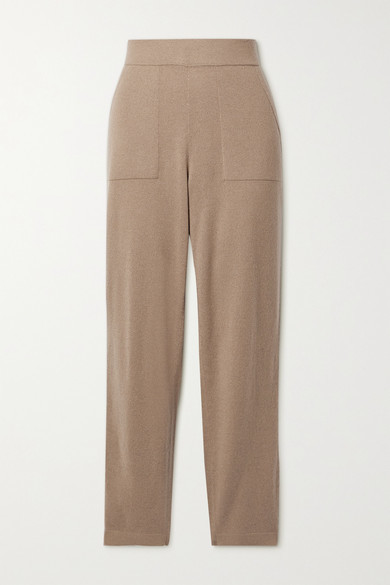 Thumbnail for your product : Akris Cashmere Track Pants - Camel