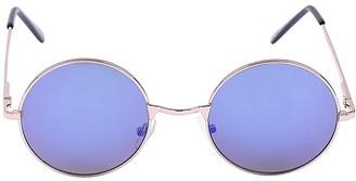 Sass & Belle Jordan Blue Round Festival Ready Sunglasses