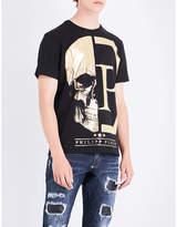 Philipp Plein Skull cotton-jersey T-shirt