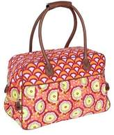Amy Butler Dream Traveler - Buttercups Tangerine Weekender Bags