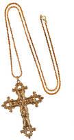 N. ROCK 'N ROSE Gabrielle Vintage Baroque Cross Necklace