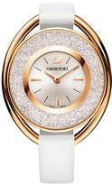 Swarovski 18K Rose Gold Plated Crystalline Oval Watch