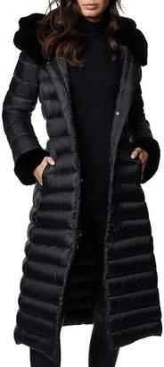 Dawn Levy Lexie Fur-Trim Down Coat