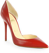 Iriza Leather d'Orsay Pumps