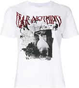 McQ fear nothing print T-shirt