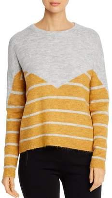 Vero Moda Rana Color-Blocked Striped Sweater