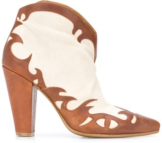 Golden Goose Cowboy-Style Ankle Boots