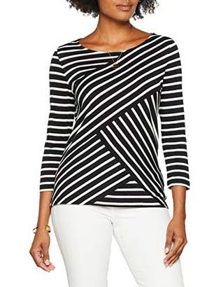 Gerry Weber Casual Women's T-Shirt 3/4 Arm Long Sleeve Top,(Size: 38)