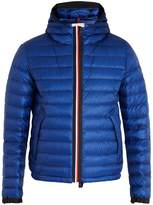 Moncler Morvan quilted down hooded jacket