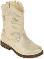 JCPenney Okie Dokie Savannah Girls Cowboy Boots - Toddler