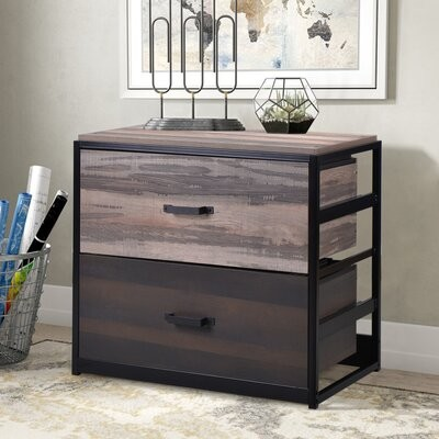 Latitude Run Althia 2 Drawer Lateral Filing Cabinet Shopstyle