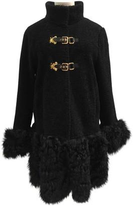 Miu Miu \N Black Shearling Coats