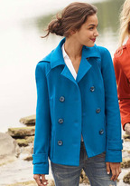 Alloy Maria Short Hooded Peacoat With Thinsulate