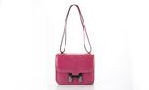 Hermes Pink Varanus Niloticus Lizard Constance 18cm Bag
