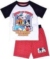 Disney Disney's Mickey Mouse Toddler Boy Mickey & Friends Hanging Around Tee & Shorts Set