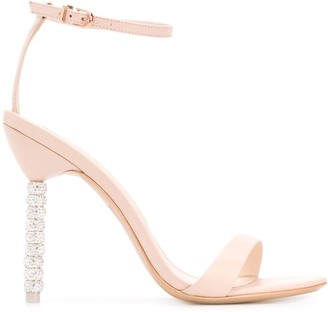 Sophia Webster Crystal-Embellished High-Heel Sandals