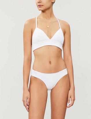 Seafolly Quilted triangle bikini top