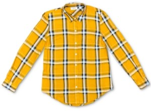 Style&Co. Style & Co Petite Plaid Utility Shirt, Created for Macy's