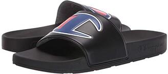 Champion IPO (Black/Black) Men's Slide Shoes
