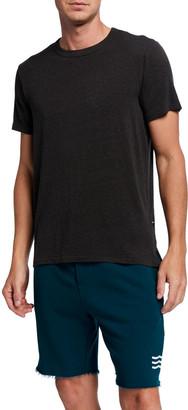 Sol Angeles Men's Cotton/Linen Slub Jersey T-Shirt