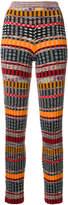 Missoni striped ribbed knit leggings