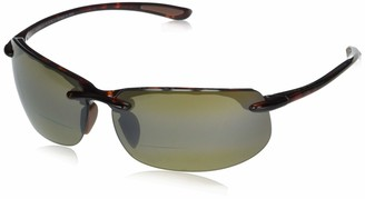 Maui Jim Sunglasses | Banyans H412-1020 | Tortoise Sport Frame Frame Polarized Hcl Bronze Lenses with Patented PolarizedPlus2 Lens Technology