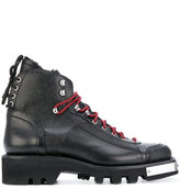 DSQUARED2 shearling lined boots - men - Leather/rubber - 43