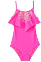 Hobie Girls' A Stitch In Time Hanky One Piece Swimsuit (7yrs14yrs) - 8140633