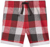 First Impressions Plaid Shorts, Baby Boys, Created for Macy's