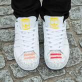 Adidas X Pharrell Williams Multicolour Leather Trainers
