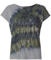 Raquel Allegra tie-dye detail T-shirt