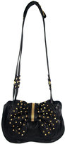 Edie Studded Bow Bag In Black
