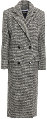 IRO Sikinos Double-breasted Wool-blend Boucle Coat